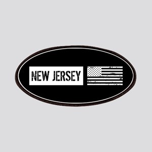 U.S. Flag: New Jersey Patch