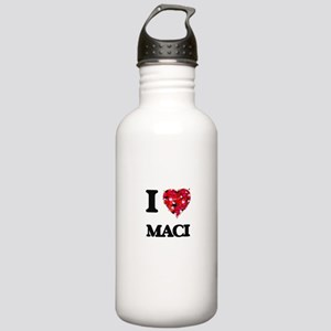 I Love Maci Stainless Water Bottle 1.0L