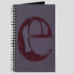 red lowercase e Journal