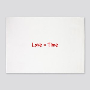 Love =Time Alex's Fave 5'x7'Area Rug