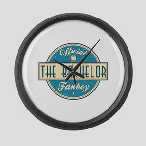 Official The Bachelor Fanboy Large Wall Clock