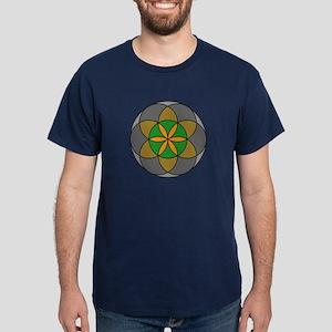 Seed of Life Earth4 Dark T-Shirt