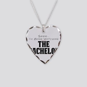 Shhh... I'm Binge Watching The Bachelor Necklace H