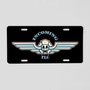 Incoming! Aluminum License Plate