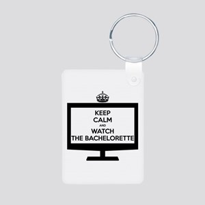 Keep Calm and Watch The Bachelorette Aluminum Phot