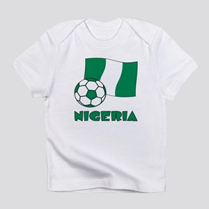 Nigeria Flag and Soccer Infant T-Shirt