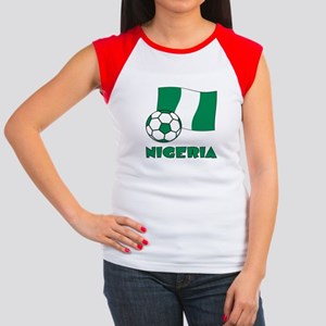 Nigeria Flag and Socc T-Shirt