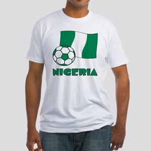 Nigeria Flag and Socc T-Shirt