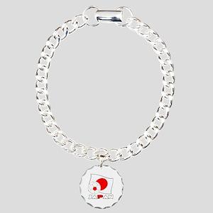 Japanese Soccer Ball and Charm Bracelet, One Charm