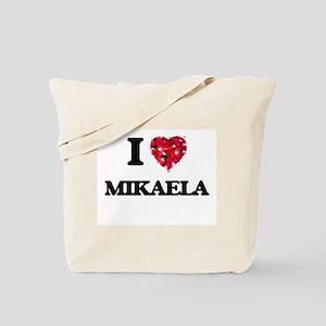 I Love Mikaela Tote Bag