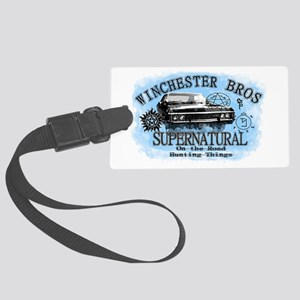 Winchesters on the Road T-shirt Luggage Tag