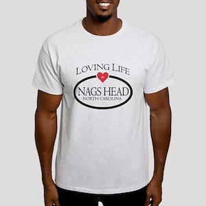 Loving Life in Nags Head, NC T-Shirt