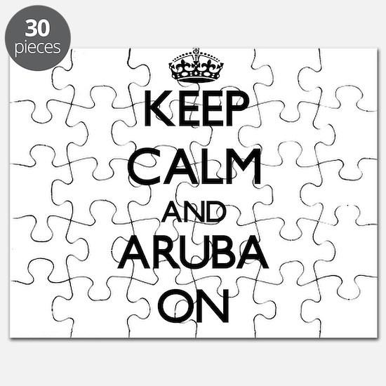 Keep calm and Aruba ON Puzzle