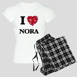 I Love Nora Women's Light Pajamas