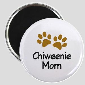 Chiweenie Mom  Magnet