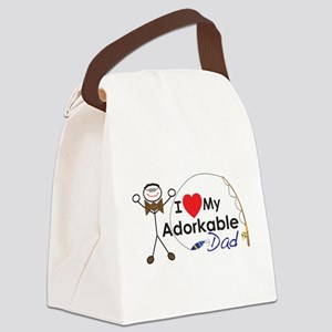 Adat Happy Father's Day Canvas Lunch Bag