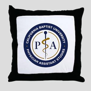 CBU PA Studies Badge Throw Pillow