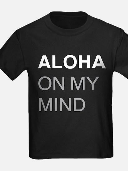 Aloha On My Mind Design T-Shirt