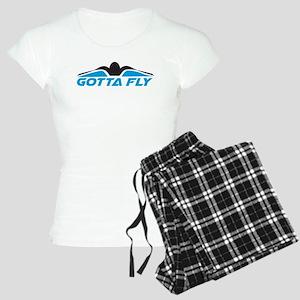 Swimming Gotta Fly Pajamas