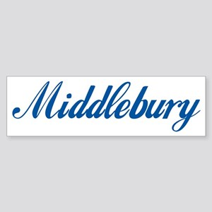 Middlebury (cursive) Bumper Sticker