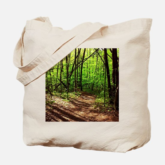 Cool Forest green Tote Bag