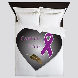 Cancer Free Queen Duvet