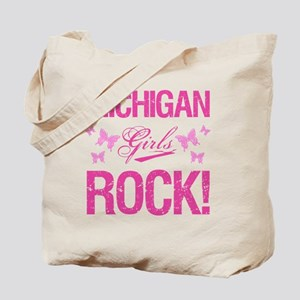 Michigan Girls Rock Tote Bag