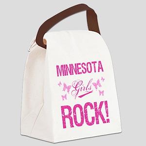 Minnesota Girls Rock Canvas Lunch Bag