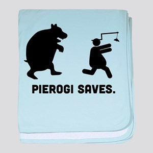 Pierogi baby blanket
