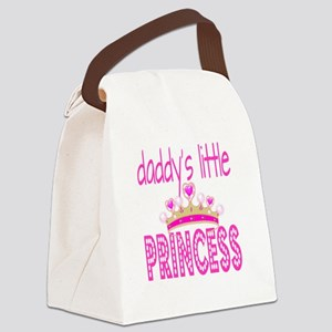 Daddy's Little Princess! Canvas Lunch Bag