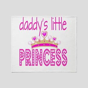 Daddy's Little Princess! Throw Blanket
