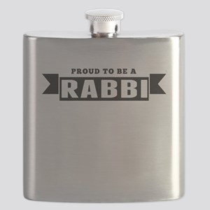 Proud To Be A Rabbi Flask