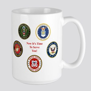 Now It's Time To Serve You! Mug Mugs