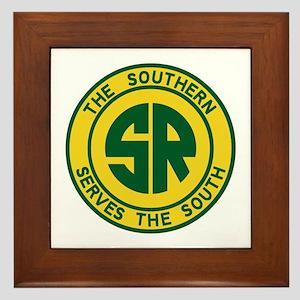 Southern Railway Framed Tile