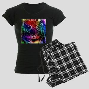 Artsy Rainbow Tiger Pajamas