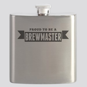 Proud To Be A Brewmaster Flask