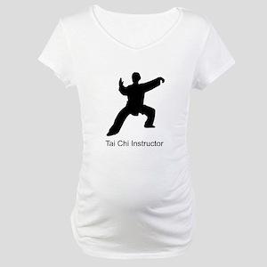 Chen Tai Chi Instructor 2 Maternity T-Shirt