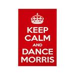 Morris Dancing Rectangle Magnet Magnets