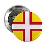 """Dorset Flag 2.25"""" Button"""