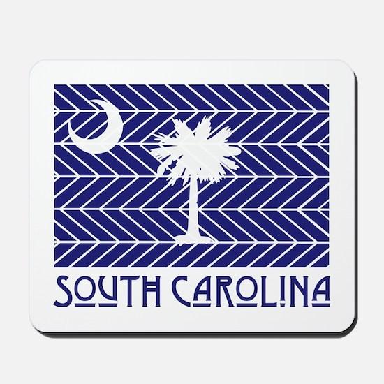 South Carolina Chevron Flag Mousepad
