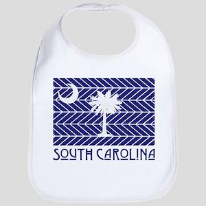 South Carolina Chevron Flag Bib
