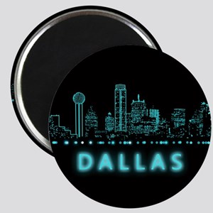 Digital Cityscape: Dallas, Texas Magnet