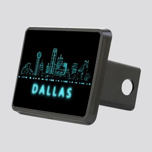 Digital Cityscape: Dallas, Rectangular Hitch Cover