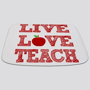 Live, Love, Teach Bathmat