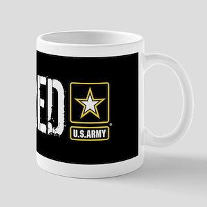 U.S. Army: Retired (Black) Mug
