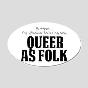 Shhh... I'm Binge Watching Queer as Folk 22x14 Ova