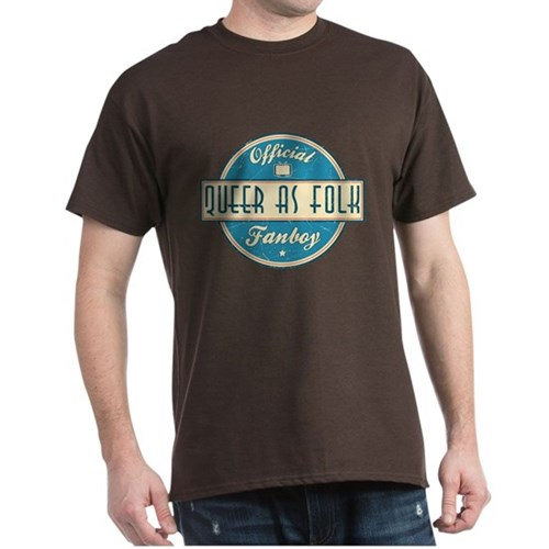 Offical Queer as Folk Fanboy Dark T-Shirt