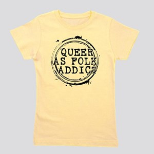 Queer as Folk Addict Stamp Girl's Tee