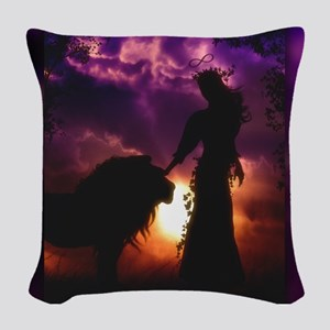 Stregnth Woven Throw Pillow