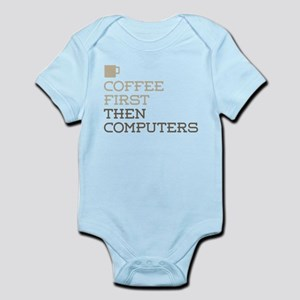 Coffee Then Computers Body Suit